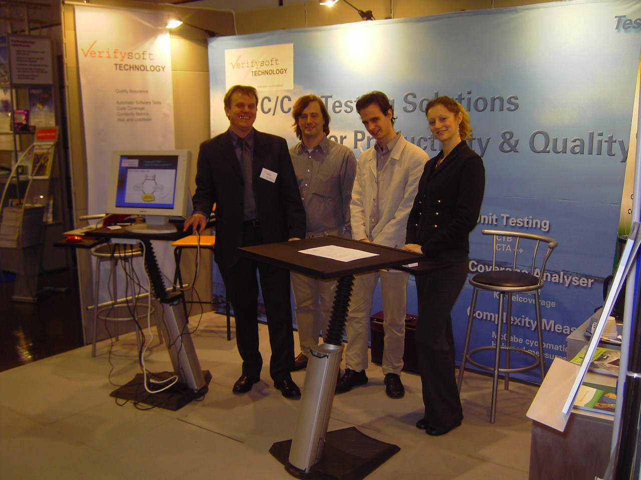 Verifysoft: Embedded World 2005
