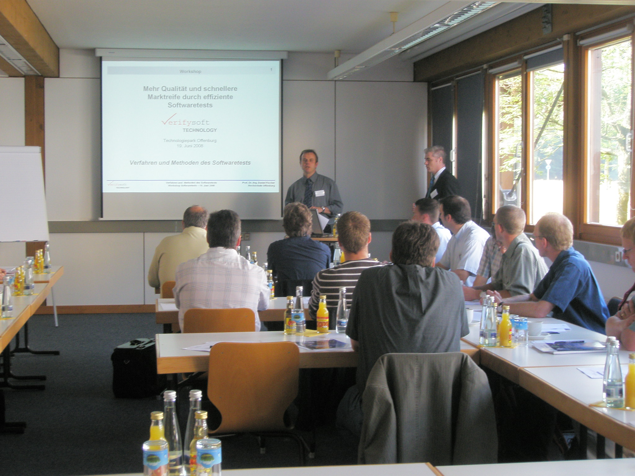 Verifysoft: Seminar Softwaretest 2008