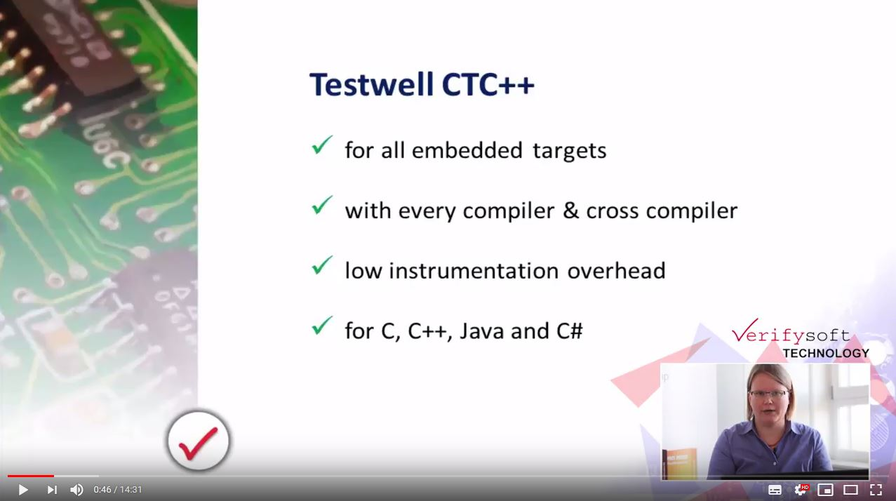 How works Testwell CTC++ with all Coverage Levels