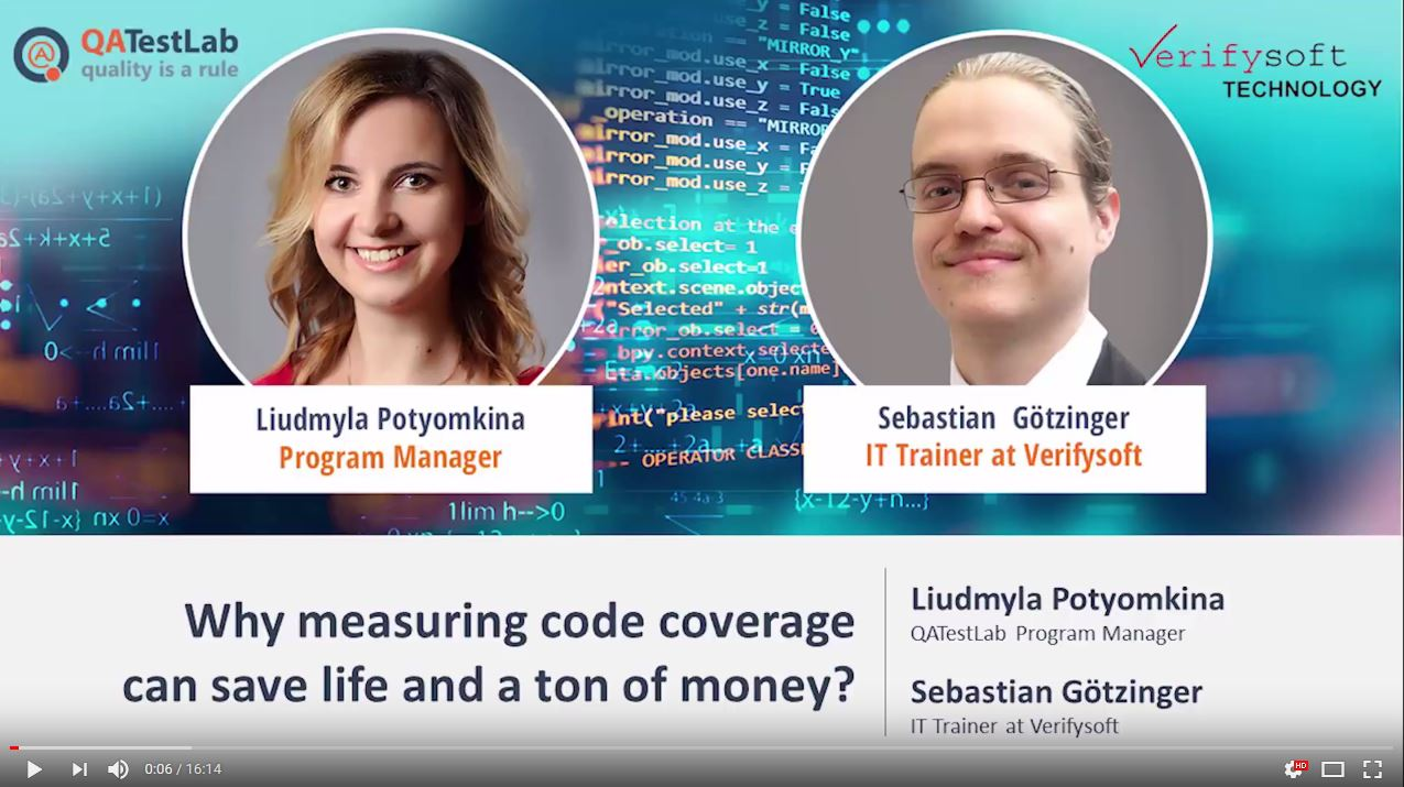 Why measuring Code Coverage can safe life and a ton of Money