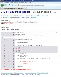 CTC++ Coverage Report Files Summary