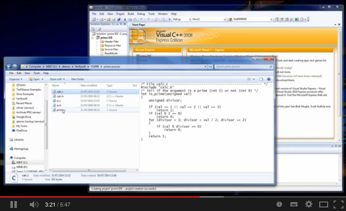 Testwell CTC++ with Microsoft Visual Studio